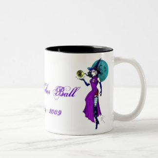 WBlogoWitch, The Cincinnati Witches Ball10th An... Two-Tone Coffee Mug