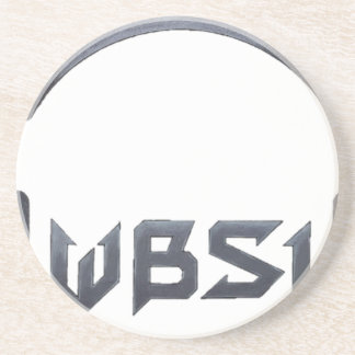 WBSI [What did the Brit Say to the Indian] gear Drink Coaster