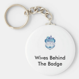 wbtblogo, Wives Behind The Badge Key Chains