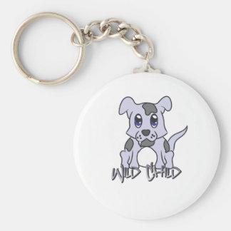 WC del perrito Llavero Personalizado