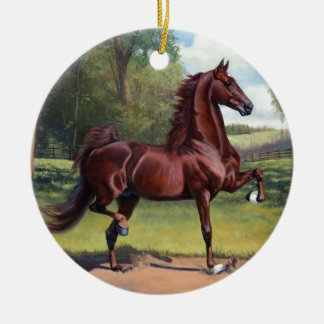 WC Merchant Prince by Jeanne Newton Schoborg Ceramic Ornament