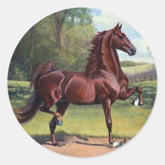 WC Merchant Prince by Jeanne Newton Schoborg Classic Round Sticker