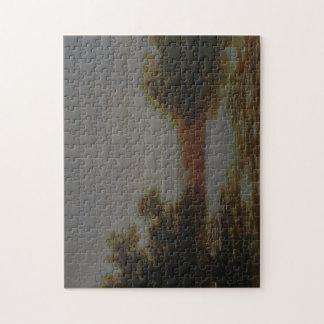 Wc Piguenit - un mangle australiano, marea de Puzzles Con Fotos