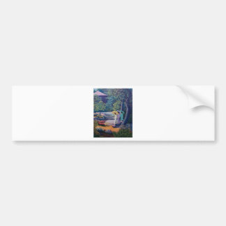 wc strolling paradise bumper sticker