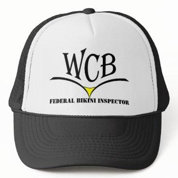 Valentines Themed WCB Federal Bikini Inspector hat