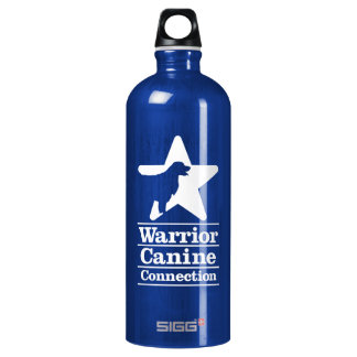 WCC navy Water Bottle
