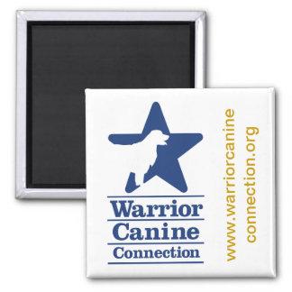 WCC square magnet