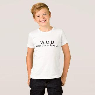 WCD Kids Shirt - Dylan Edition