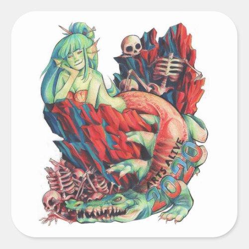 WCHS Arts Alive 2020 Sticker