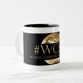 WCST World Changers Sister Tribe(TM) Black 11 oz Two-Tone Coffee Mug