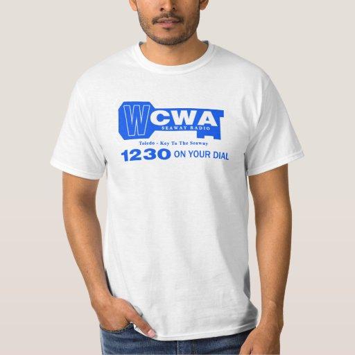 WCWA 1230 Toledo 1960's Music Station Tshirts