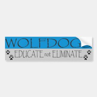 WD educate Car Bumper Sticker