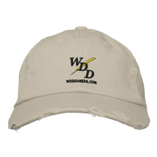 WDD embroidered gamer hat Embroidered Hats