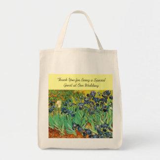 Wdding favor bag, Vincent van Gogh,Irises Bags