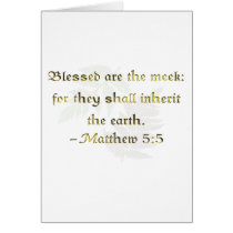 WDJS: Blessed Are the Meek Card