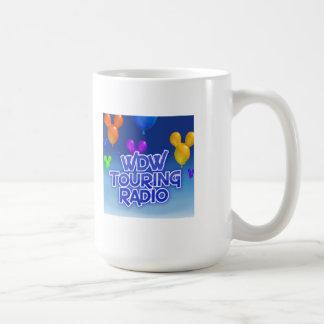 WDW que viaja a la taza de radio