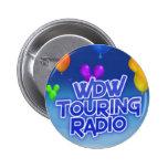 WDW que viaja al botón de radio Pin