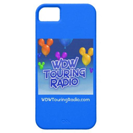 WDW que viaja al caso de radio del iPhone 5 iPhone 5 Case-Mate Protector
