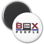 WDW Radio Box People 2 Inch Round Magnet