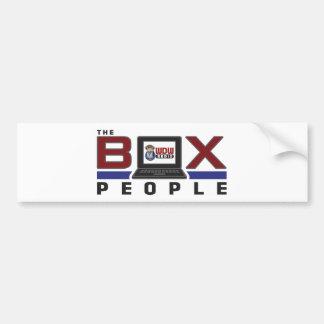 WDW Radio Box People Bumper Sticker