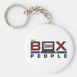 WDW Radio Box People Keychain