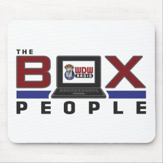 WDW Radio Box People Mouse Pad