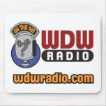 WDW Radio Logo Gear Mouse Pad