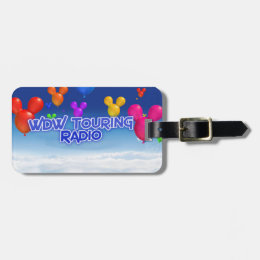 WDW Touring Radio Luggage Tags