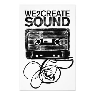 We2Create Sound K7 Stationery