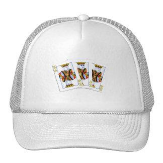 We 3 Kings Card Cap Trucker Hat