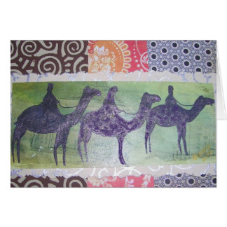 We 3 Kings Collage Greeting Card