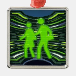 We Adore GREEN Champions Walk Talk Inspire NVN240 Christmas Ornament