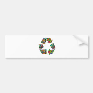 We adore Recycle Champions Bumper Sticker