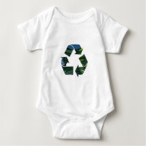 We Adore RECYCLE Champions NVN253 Environment fun Baby Bodysuit