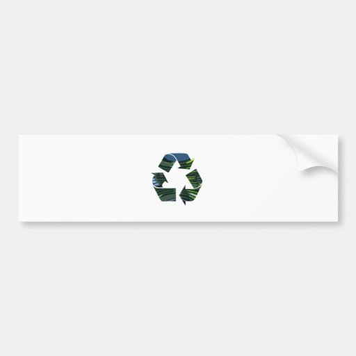 We Adore RECYCLE Champions NVN253 Environment fun Bumper Stickers