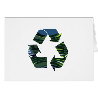 We Adore RECYCLE Champions NVN253 Environment fun Greeting Card