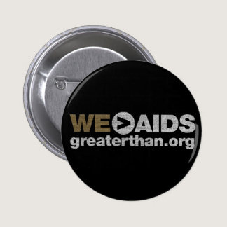 WE > AIDS Button