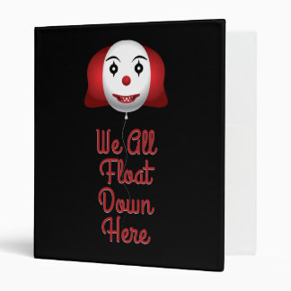 We All Float Down Here Binder