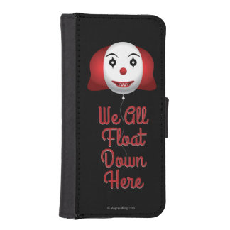 We All Float Down Here Wallet Phone Case For iPhone SE/5/5s