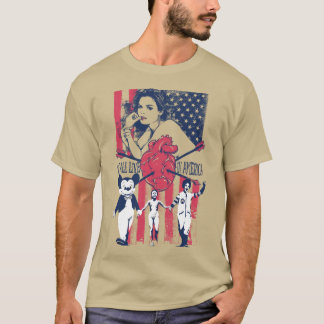 We All Live in America T-Shirt