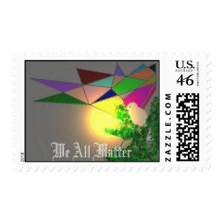 We All Matter Postage Stamp