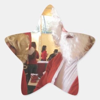 WE ALL NEED LOVE SANTA Hohoho!.jpg Star Sticker