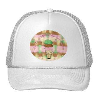 We All Scream For Ice Cream Mesh Hats