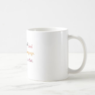 we all smile and bleed in the same language coffee mug