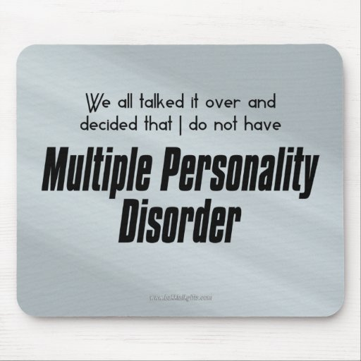 We all talked it over... mouse pad