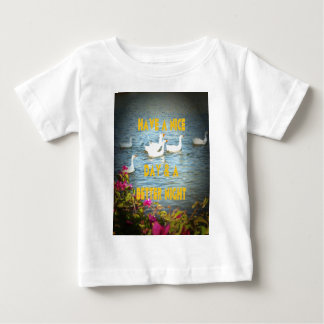 We always leave our customers happy & satisfied. t-shirt