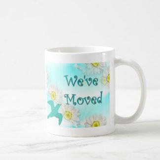 We've Moved Classic White Coffee Mug