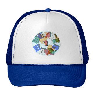 We Are 1 World Cap Trucker Hat