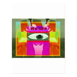 We are 2 postcard