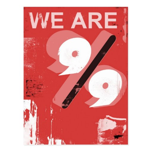 We are 99 postcard